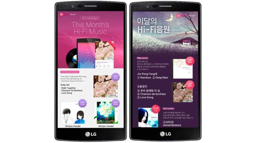 LG zapowiada usługę muzyczną