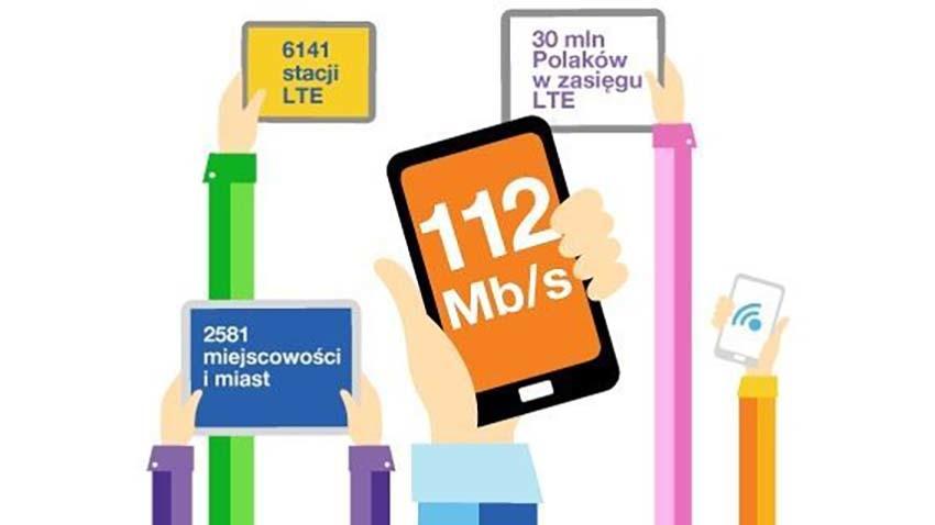 Orange przyspiesza LTE