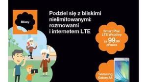 Orange prezentuje Smart Plany LTE ? nielimitowane rozmowy i wiadomości oraz duże pakiety Internetu i współdzielenie usług