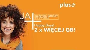 Promocja Plus: Powrót Happy Days
