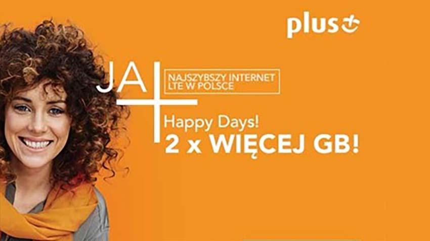 Photo of Promocja Plus: Powrót Happy Days, czyli dwa razy więcej Internetu