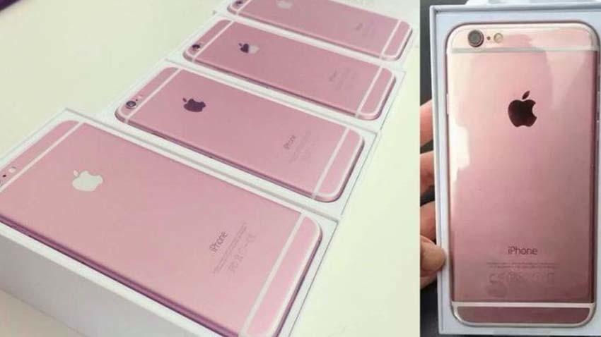 Nowe iPhone?y w różowym wariancie kolorystycznym