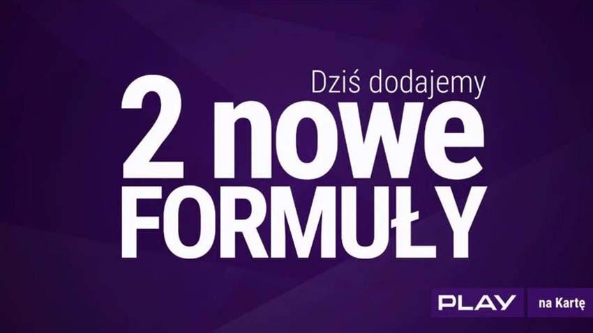 Play: Nowe Formuły Unlimited na kartę i pakiet 10 GB za 10 zł