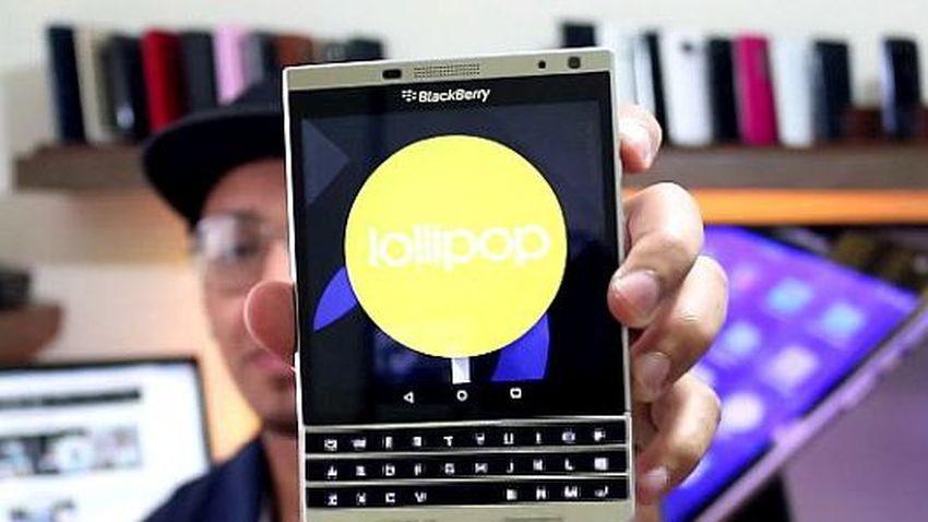BlackBerry Passport z Androidem ukazany na długim materiale wideo
