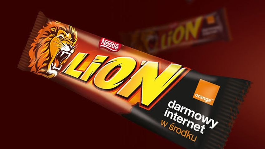 Promocja Orange: Darmowy Internet w batonach LION