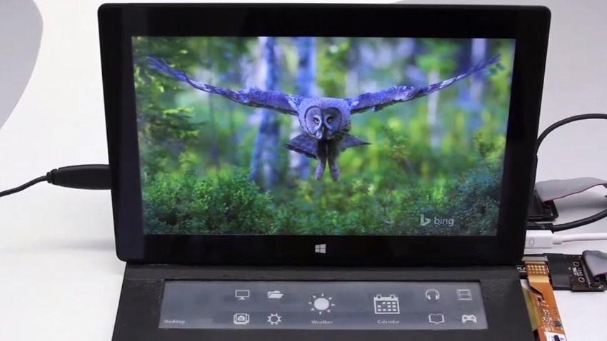 Microsoft eksperymentuje z klawiaturą wyposażoną w ekran e-ink