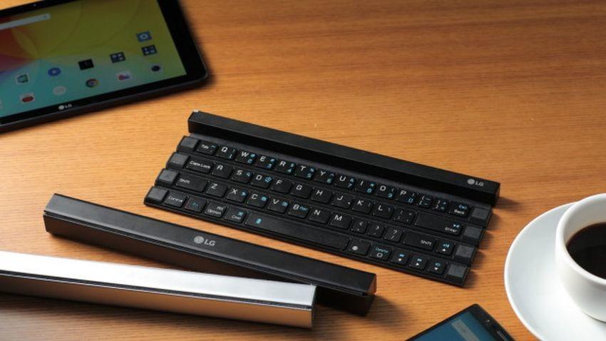 LG Rolly - pierwsza zwijana klawiatura dla smartfonów i tabletów
