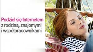 Promocja T-Mobile: Podziel się Internetem