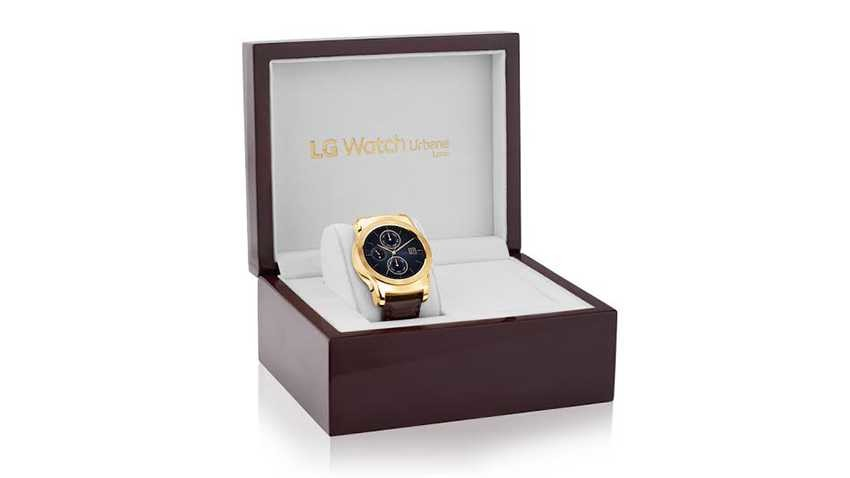 LG przedstawia luksusowy zegarek LG Watch Urbane Luxe