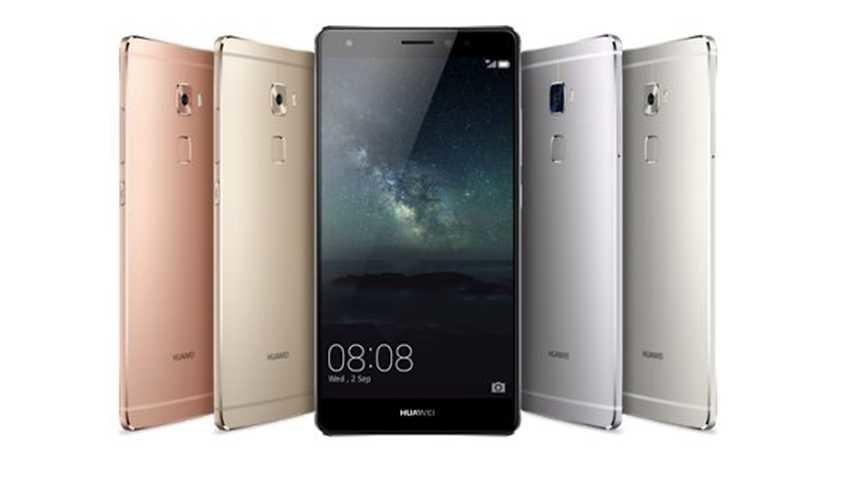 Huawei Mate S oficjalnie zaprezentowany - metal