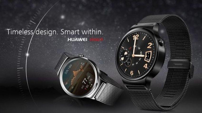 Huawei Watch trafia do sprzedaży. Znamy cenę smartwatcha