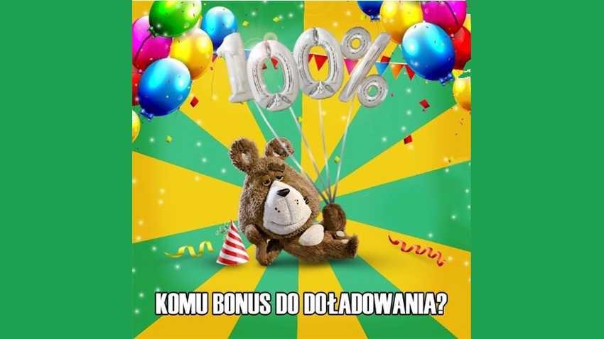 Promocja Plus: 100% do doładowania z okazji urodzin Plusha