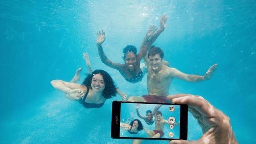 Korzystanie ze smartfonów Sony pod wodą unieważnia gwarancję