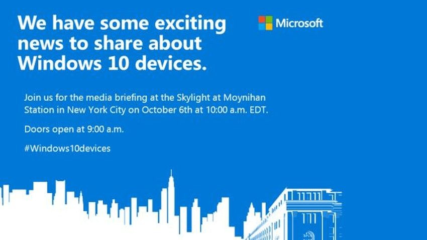 Nowe urządzenia Microsoftu doczekają się prezentacji na początku października