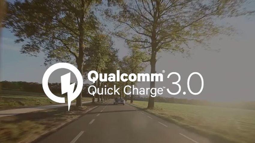 Qualcomm Quick Charge 3.0 - smartfony jeszcze nigdy nie ładowały się tak szybko