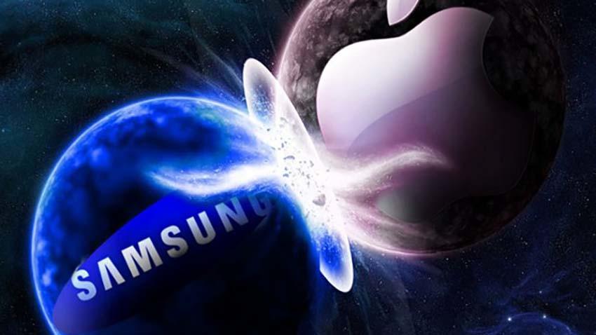 Apple walczy zaciekle z Samsungiem o trzy patenty