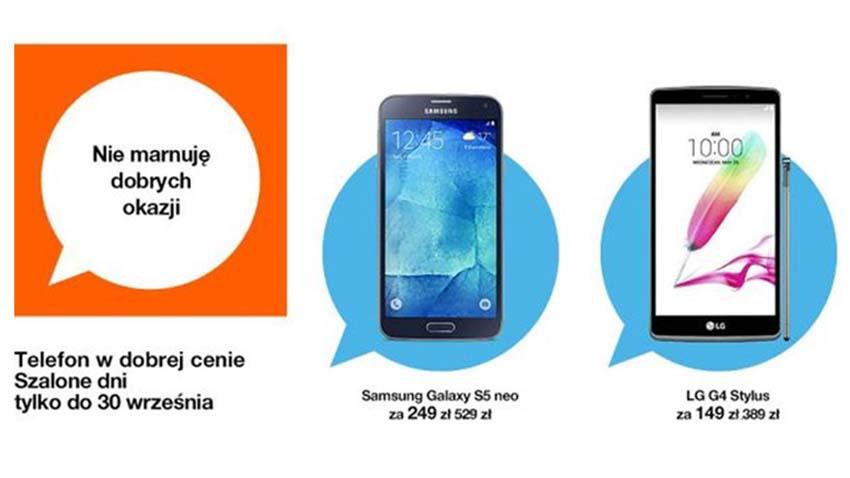Photo of Promocja Orange: Kolejne obniżki cen urządzeń
