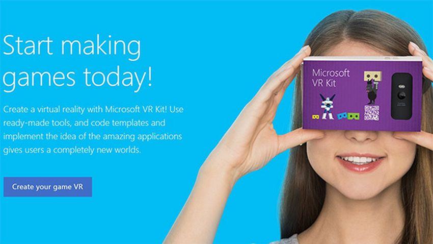 Photo of Microsoft zaprezentuje własną wersję kartonowych gogli VR