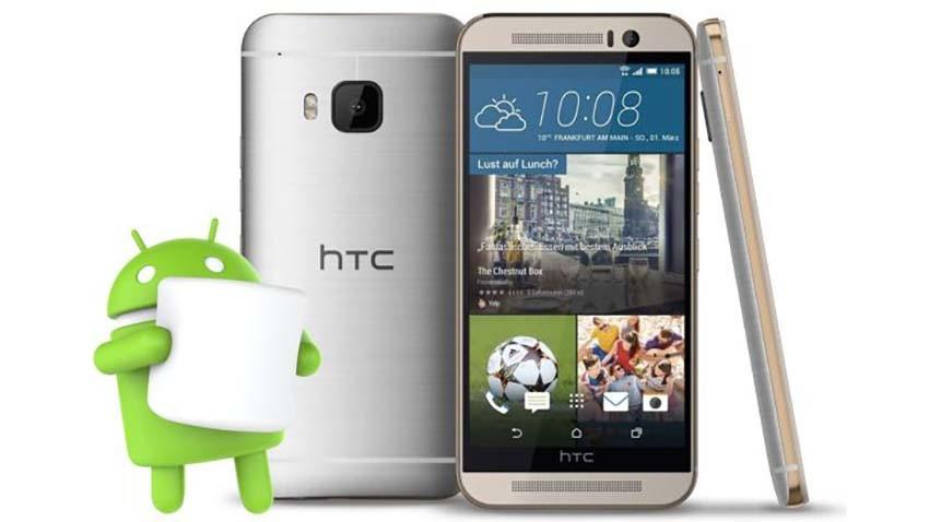 HTC - smartfony z gwarantowaną aktualizacją do Androida 6.0 Marshmallow