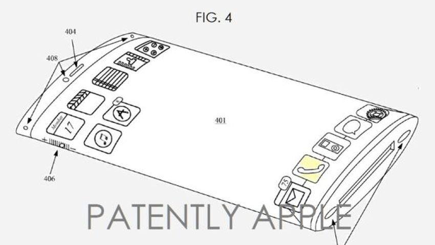 Apple patentuje zagięty ekran i nową metodę blokady urządzeń