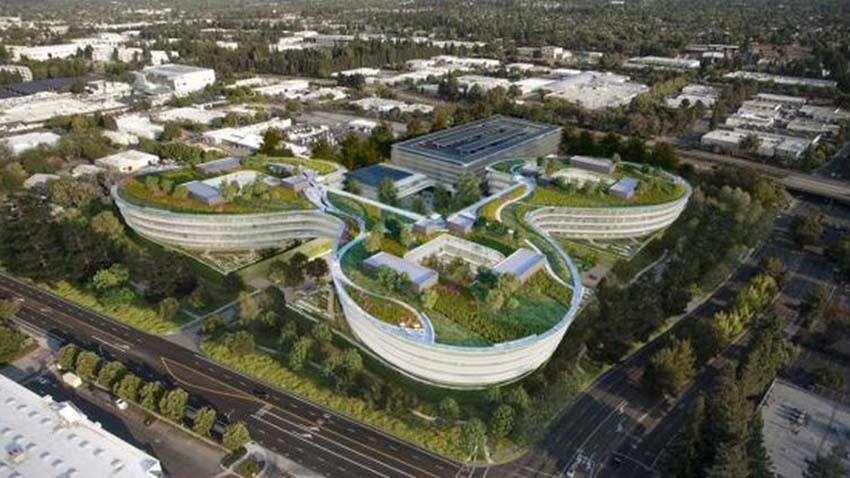 Apple wybuduje futurystyczną siedzibę w Sunnyvale