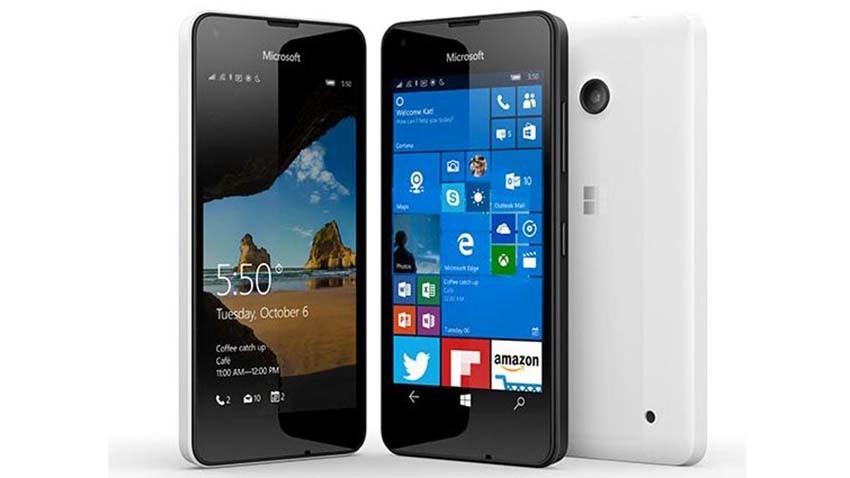 Microsoft Lumia 550 - tani smartfon z Windows 10