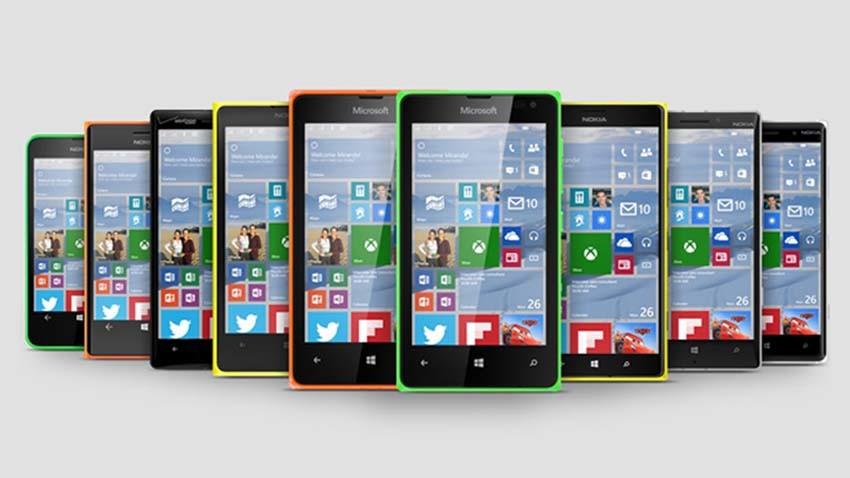 Aktualizacja smartfonów Lumia do Windows 10 wystartuje w grudniu