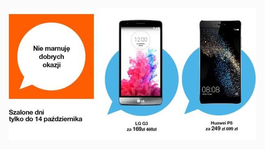 Photo of Promocja Orange: Smartfony w obniżonych cenach