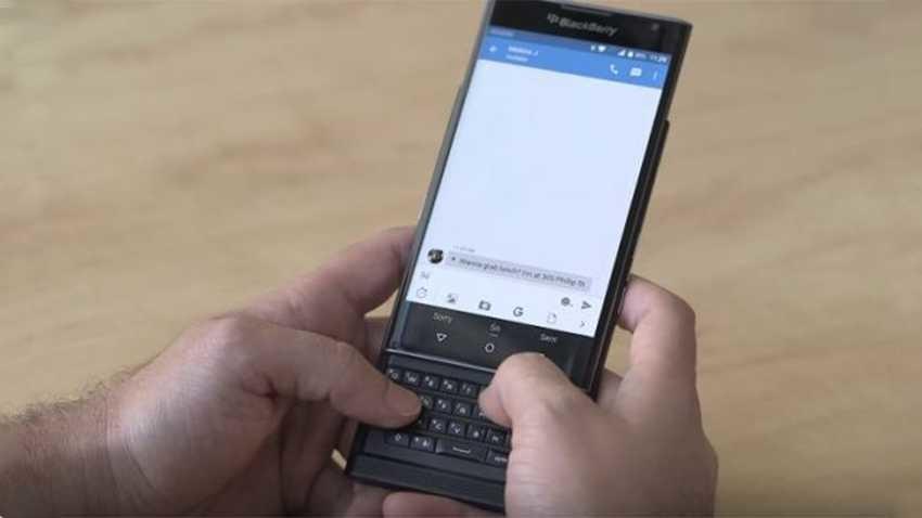 BlackBerry Priv ukazany na pierwszym oficjalnym materiale wideo