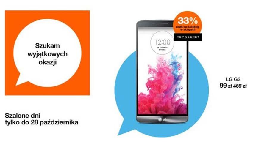 Promocja Orange: Jesienna wyprzedaż smartfonów