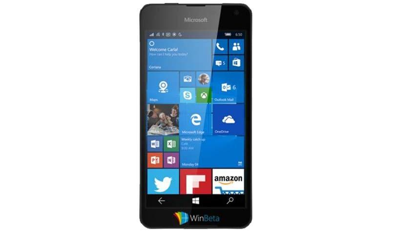 Kolejna Lumia z Windows 10 ukazana na zdjęciach