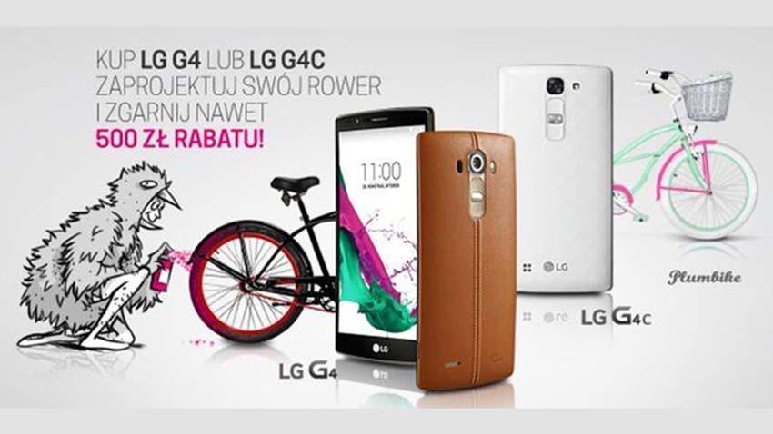 T-Mobile: Smartfony LG i zniżka na rower