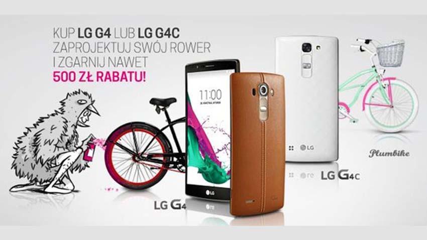 Photo of T-Mobile: Smartfony LG i zniżka na rower