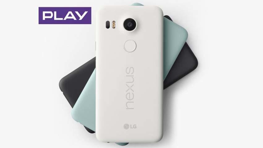 Startuje przedsprzedaż LG Nexus 5X w Play