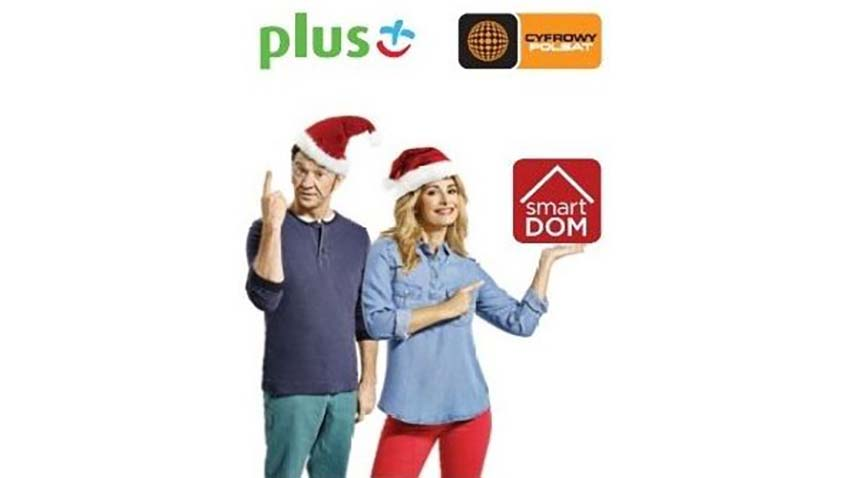 smartDOM na Gwiazdkę - świąteczna oferta Plusa i Cyfrowego Polsatu