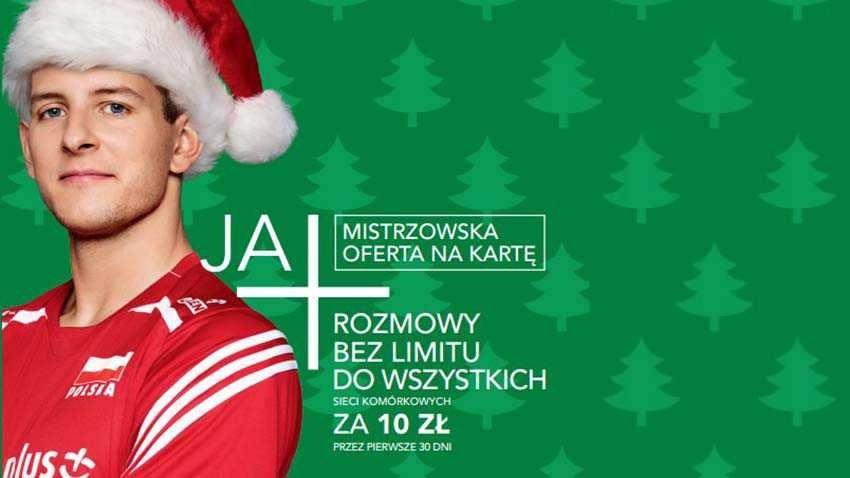 Kampania reklamowa świątecznej promocji Plus na Kartę