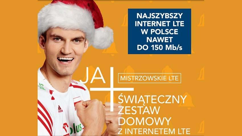 Świąteczna oferta internetowa Plusa w pierwszym spocie reklamowym