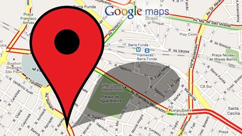 Google Maps z nawigacją w trybie offline