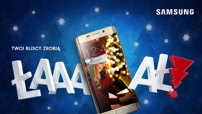 Photo of ŁAAAAŁ – świąteczna kampania Samsunga