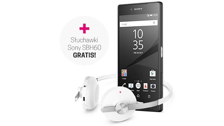 T-Mobile: Sony Xperia Z5 Premium z prezentem