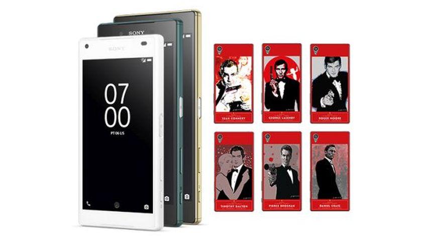 Kup Xperię Z5 i otrzymaj darmowe etui z Jamesem Bondem