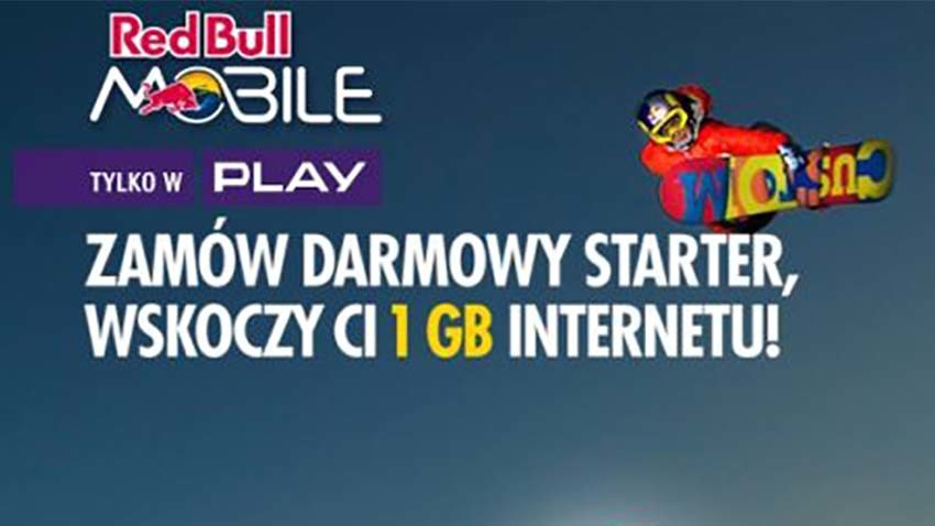 Starter Red Bull Mobile za darmo
