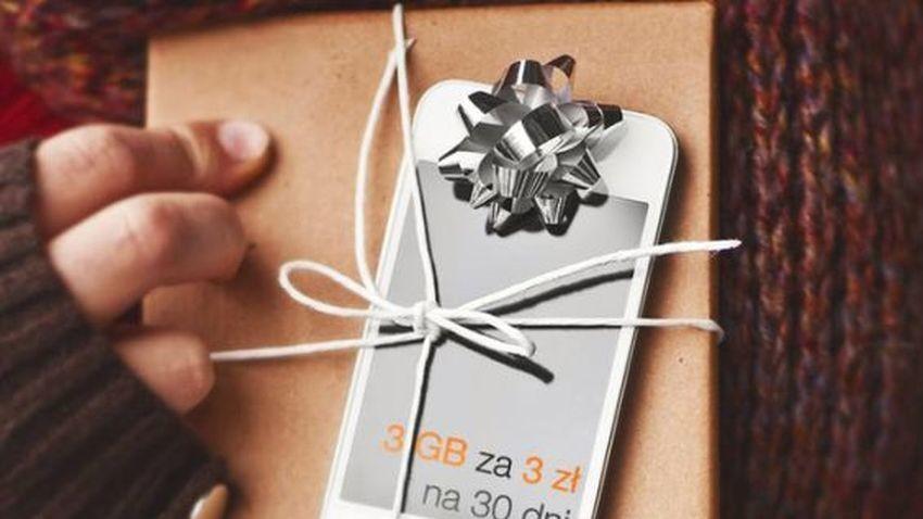Promocja Orange: Mikołajkowy pakiet internetowy