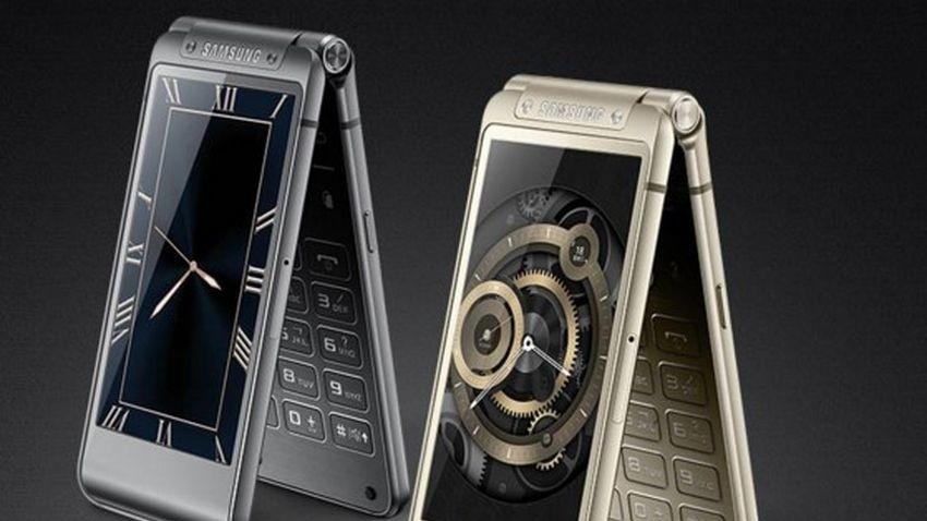 Samsung W2016 - flagowiec wśród telefonów z klapką