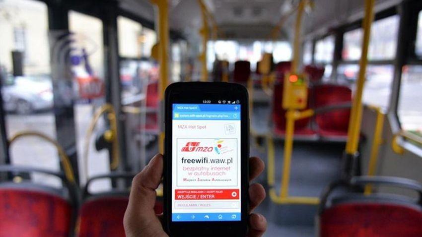 Internet w setkach miejskich autobusów od 2016 roku