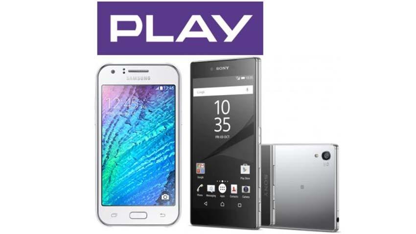 Sony Xperia Z5 Compact i Samsung Galaxy J1 taniej w sieci Play