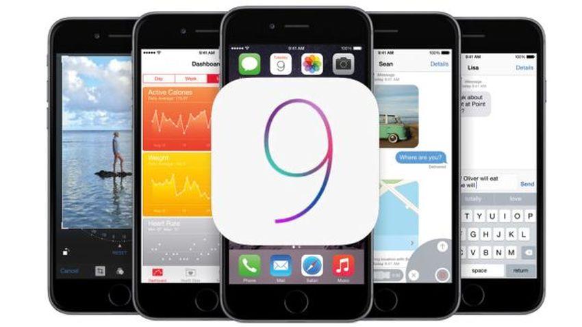 iOS 9 szybko opanował urządzenia Apple