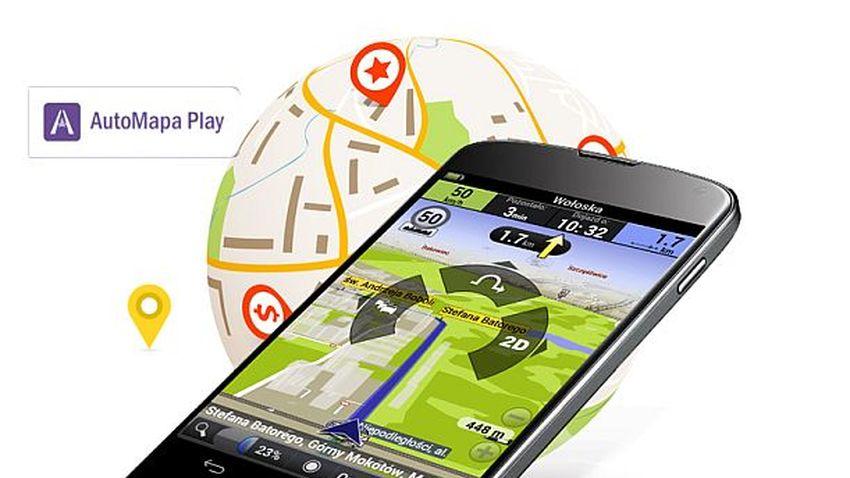 AutoMapa w sieci Play. Pierwszy miesiąc korzystania z usługi za darmo