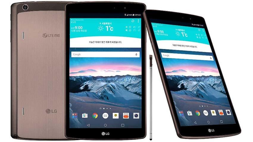 LG G Pad II 8.3 oficjalnie zapowiedziany