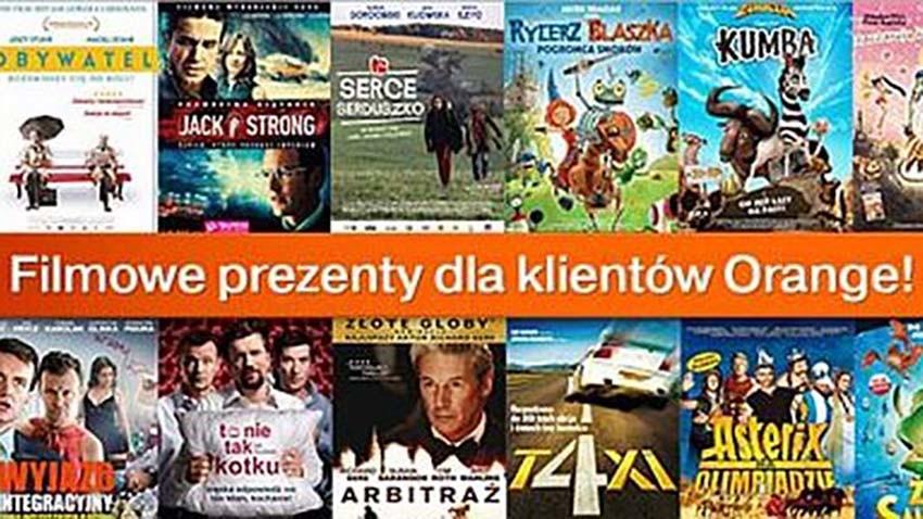 Filmowe prezenty dla klientów Orange